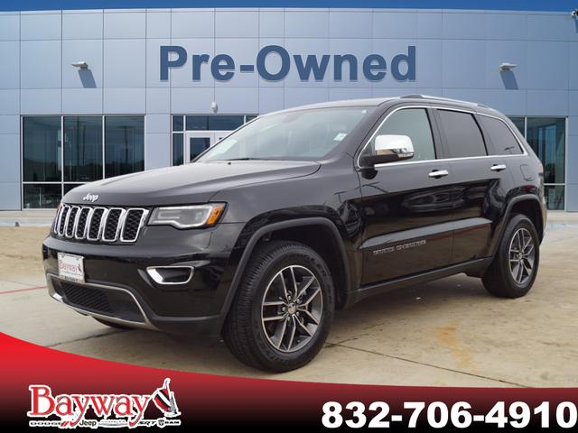 Pre-Owned 2018 Jeep Grand Cherokee LIMI