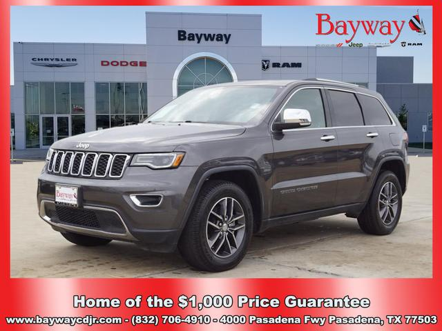 Pre-Owned 2017 Jeep Grand Cherokee LIMI