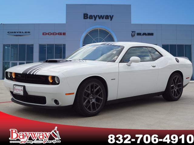New 2018 Dodge Challenger R T Plus Shaker Coupe In Pasadena B181266