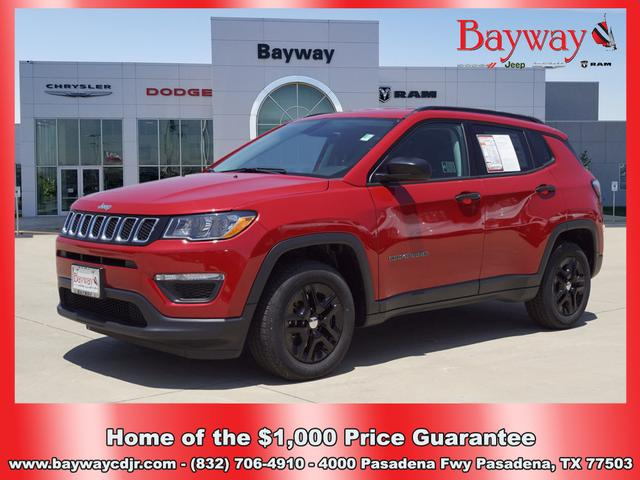 Pre-Owned 2018 Jeep Compass Sport