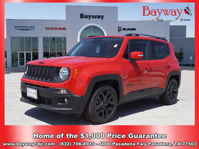 LOANER 2018 JEEP RENEGADE LATITUDE