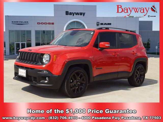 Pre-Owned 2018 Jeep Renegade LATI