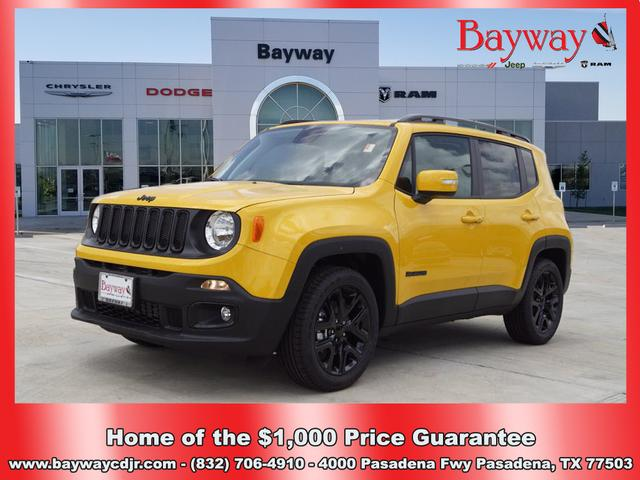 New 2018 JEEP Renegade 2018 JEEP RENEGADE LATITUDE 4DR SUV