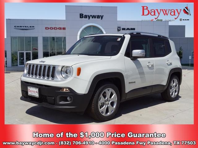 LOANER 2018 JEEP RENEGADE LIMITED