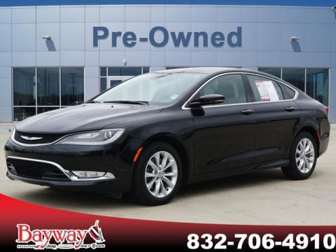 PRE-OWNED 2015 CHRYSLER 200 C WITH NAVIGATION