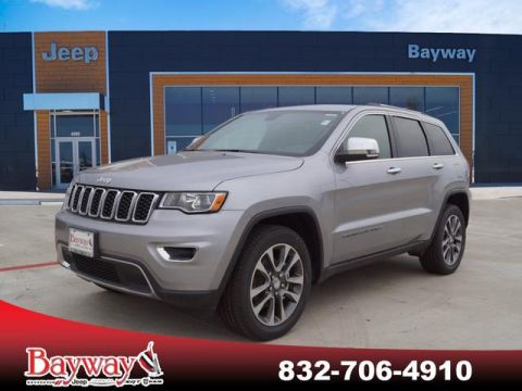 New 2018 JEEP Grand Cherokee 2018 JEEP GRAND CHEROKEE LIMITED 4D