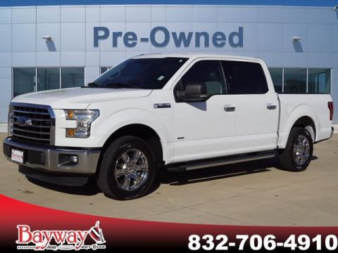PRE-OWNED 2015 FORD F-150 XLT RWD PK