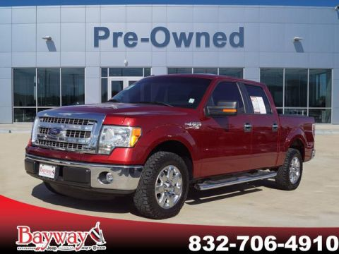 PRE-OWNED 2014 FORD F-150 XLT RWD PK