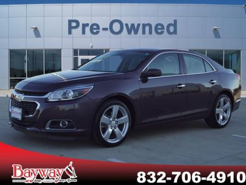 PRE-OWNED 2015 CHEVROLET MALIBU LTZ WITH NAVIGATION