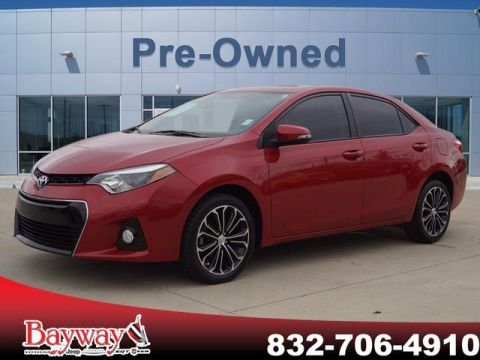 PRE-OWNED 2016 TOYOTA COROLLA S PLUS FWD SD