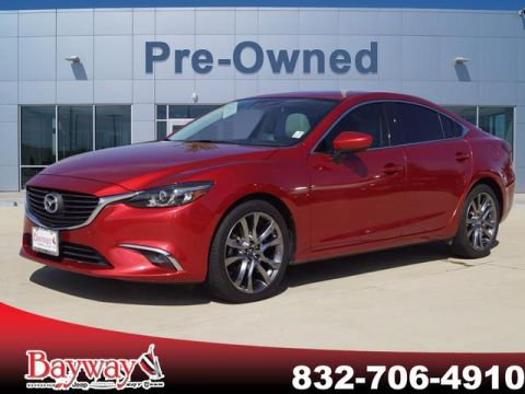 PRE-OWNED 2016 MAZDA6 I GRAND TOURING FWD 4D