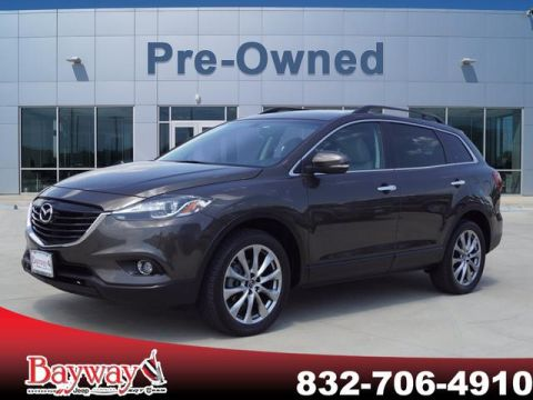 PRE-OWNED 2015 MAZDA CX-9 GRAND TOURING AWD